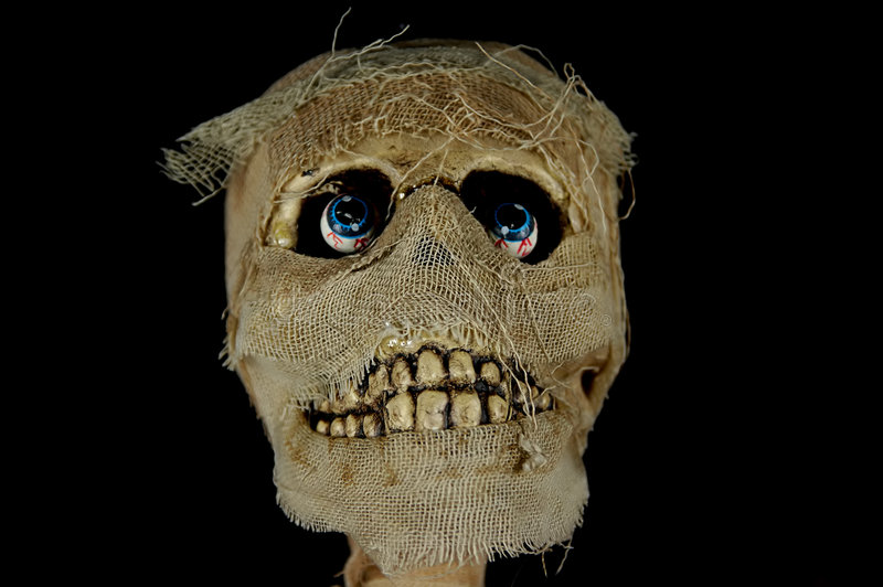 головная мумия Стоковая Фотография RF