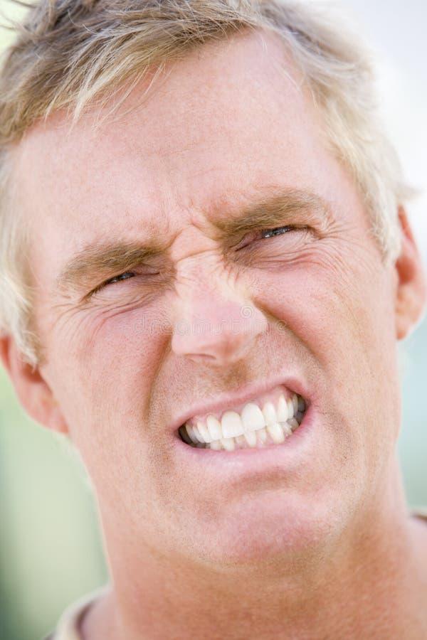 головная съемка человека стоковая фотография rf