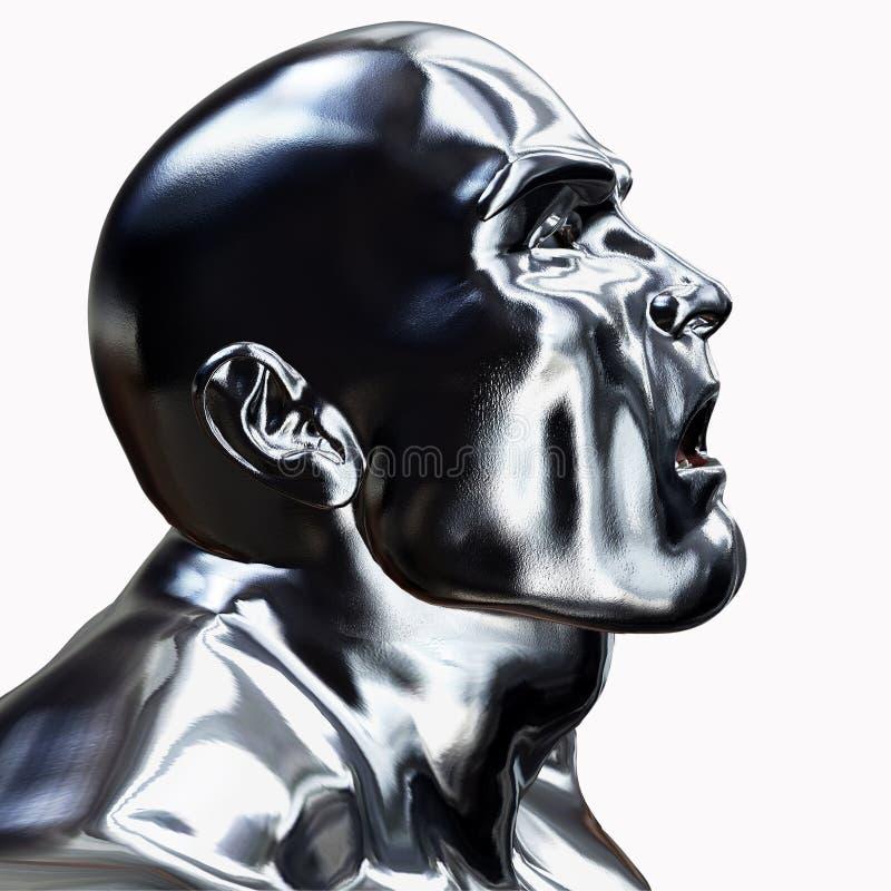 головной серебр бесплатная иллюстрация