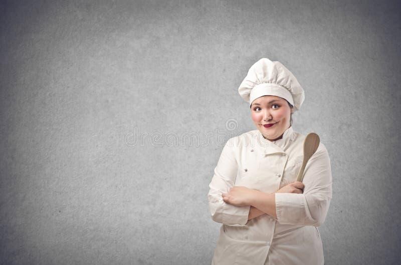 Головной шеф-повар стоковое изображение