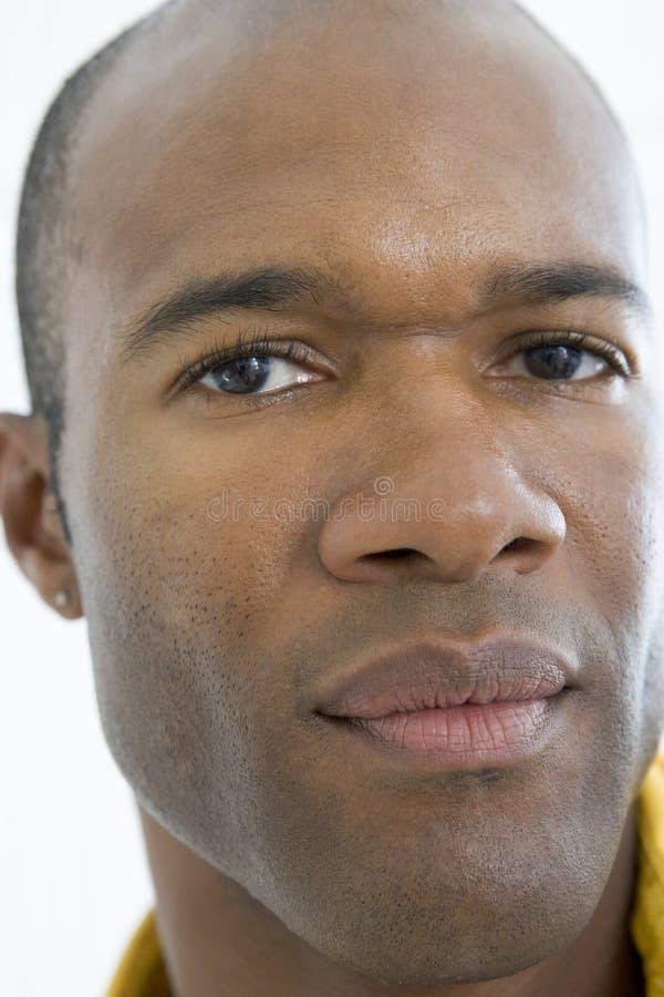 головным думать снятый человеком стоковая фотография rf