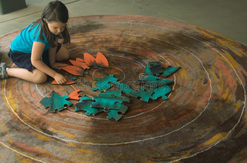 головоломка зигзага ребенка стоковые изображения rf