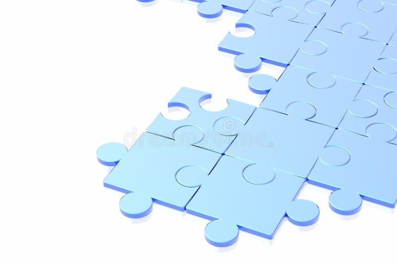 головоломка принципиальной схемы иллюстрация штока