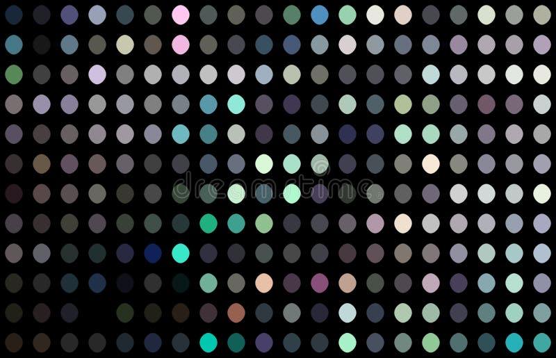 Голографическая текстура мозаики светов shimmer Абстрактная праздничная предпосылка ночи иллюстрация штока
