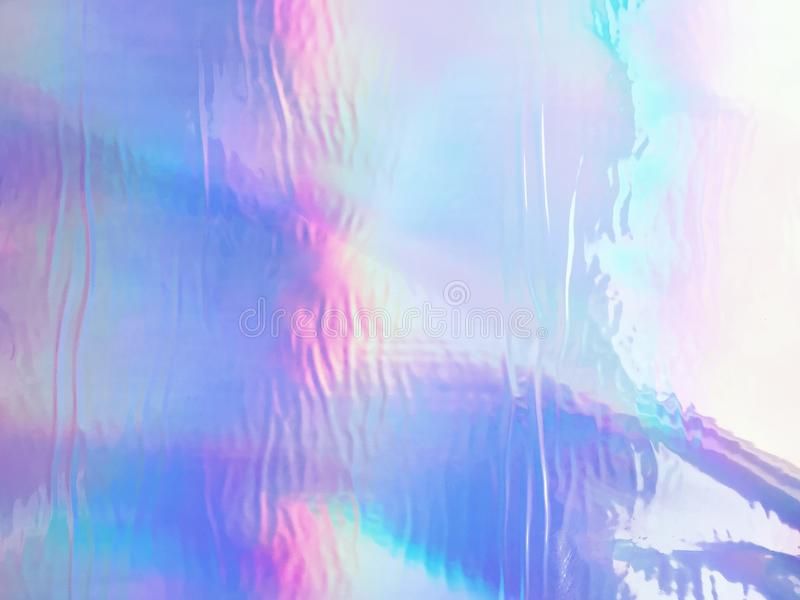 Голографический неон и пастельные цвета стоковое изображение rf