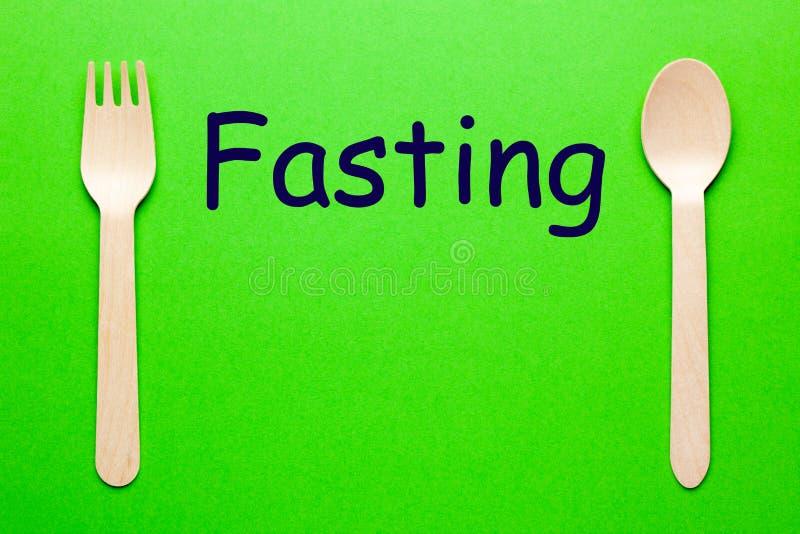 Голодать ест концепцию стоковое изображение