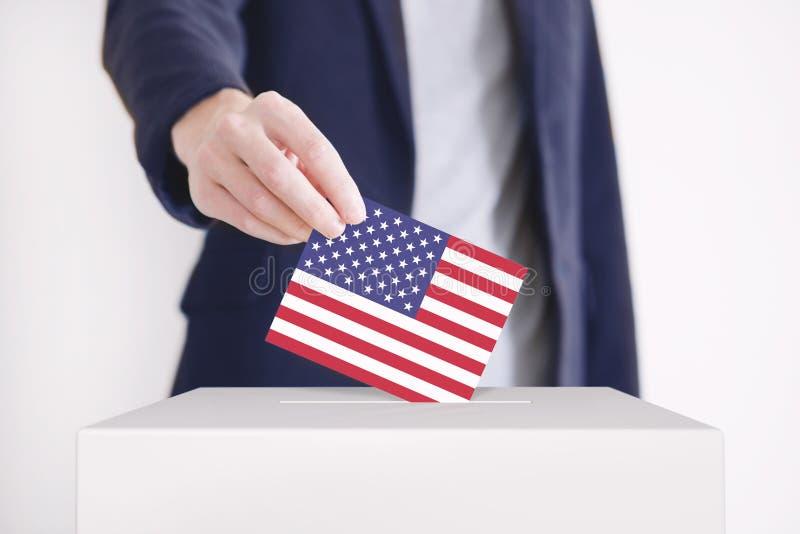 голосовать стоковое фото