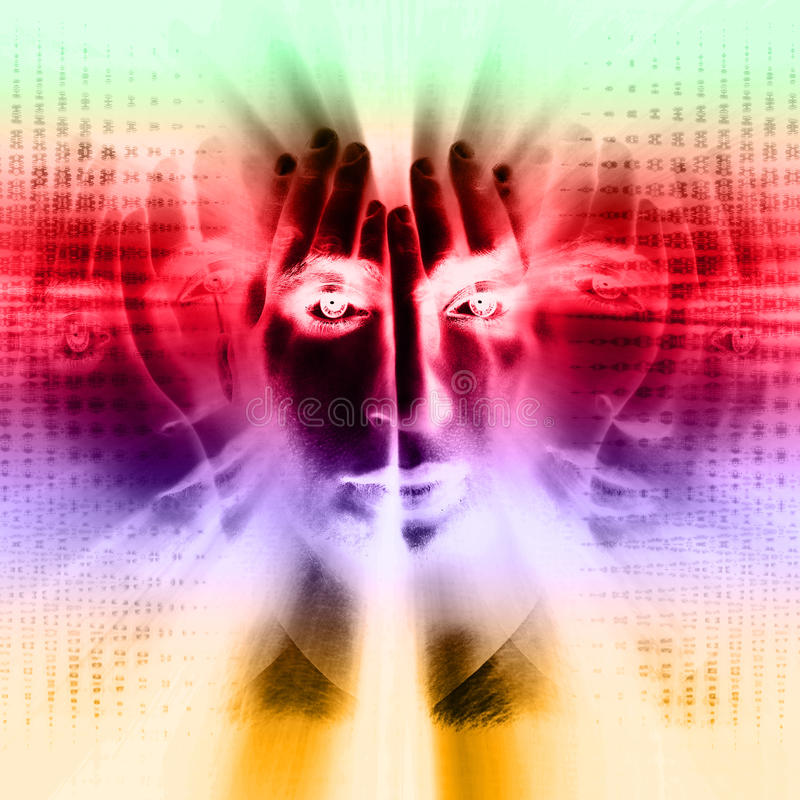 Голос внутри мы стоковые изображения
