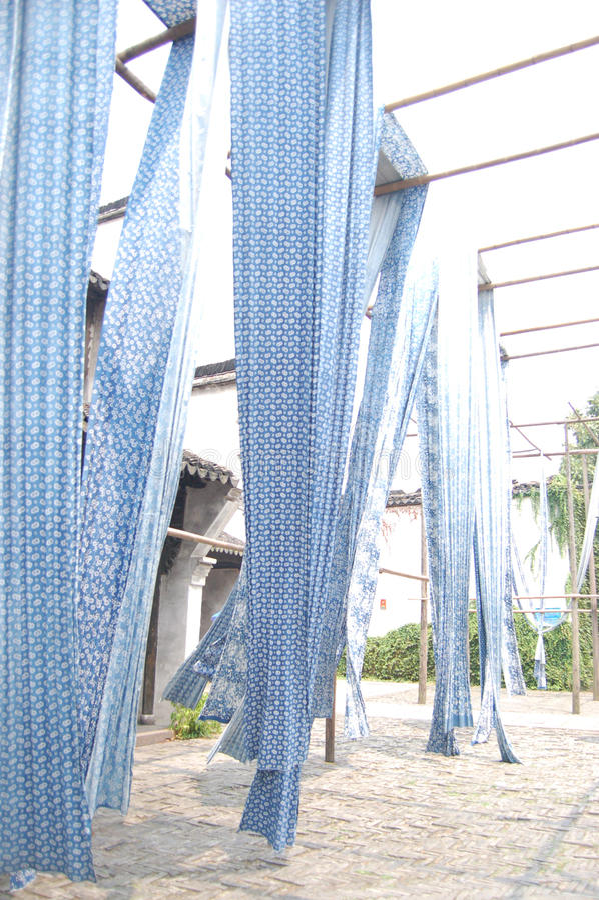 голубая белизна стоковое фото rf