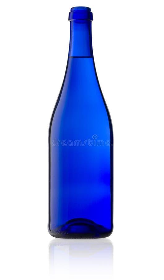 голубая бутылка стоковые изображения rf
