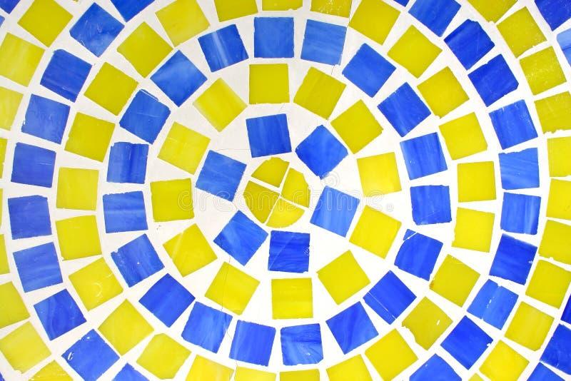 голубая верхняя часть плитки зеленой таблицы стоковая фотография rf