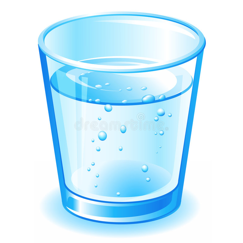 голубая вода иллюстрация вектора