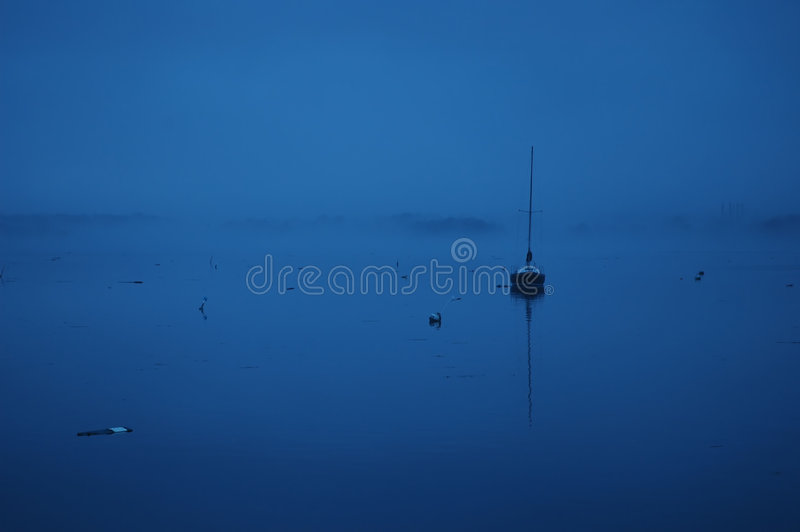 голубая гавань Стоковое Фото