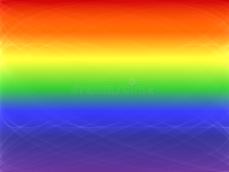 голубая гордость иллюстрация вектора