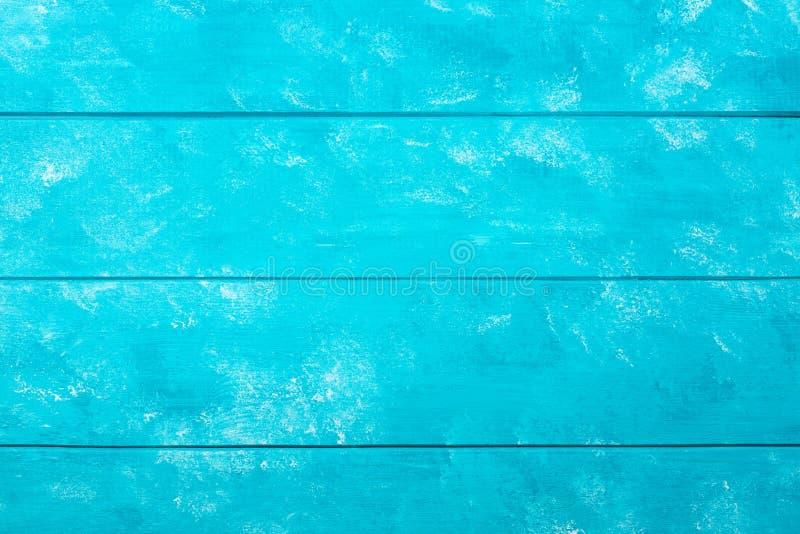 Голубая деревянная предпосылка текстуры Пастельная голубая покрашенная текстура планок тимберса деревянная стоковое изображение