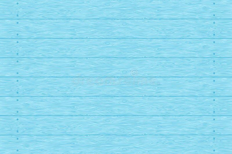 Голубая деревянная текстура планок иллюстрация штока