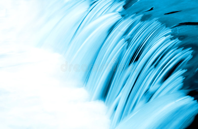 голубая деталь пропускает вода стоковые изображения rf