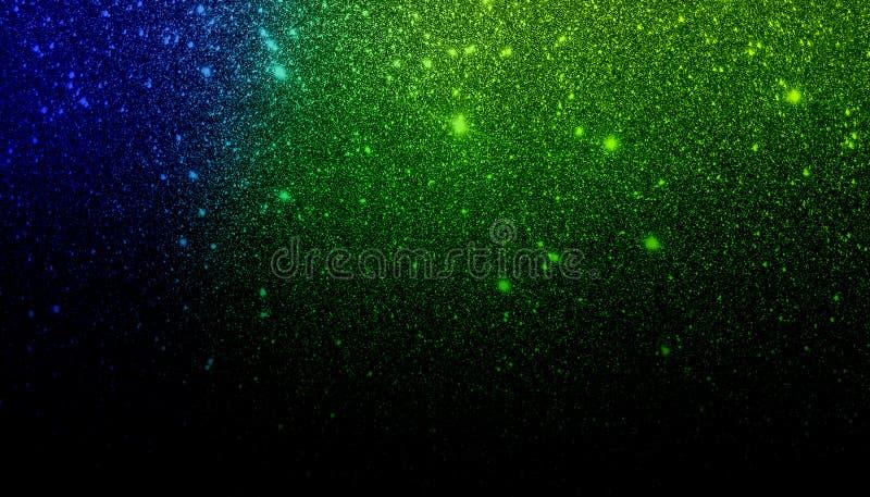 Голубая зеленая и черная затеняемая предпосылка текстурированная ярким блеском r стоковое фото rf