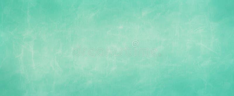 Голубая иллюстрация предпосылки пергамента зеленой книги со сморщенн иллюстрация штока