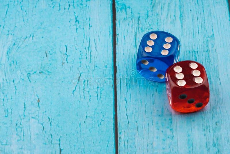 Голубая и красная кость стоковые фотографии rf