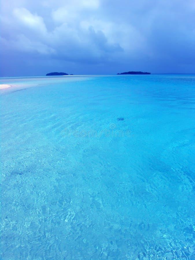 голубая лагуна стоковые фотографии rf