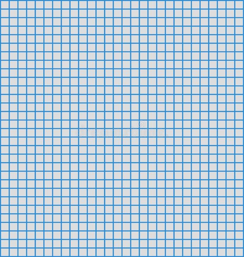 голубая линия бумага диаграммы иллюстрация штока