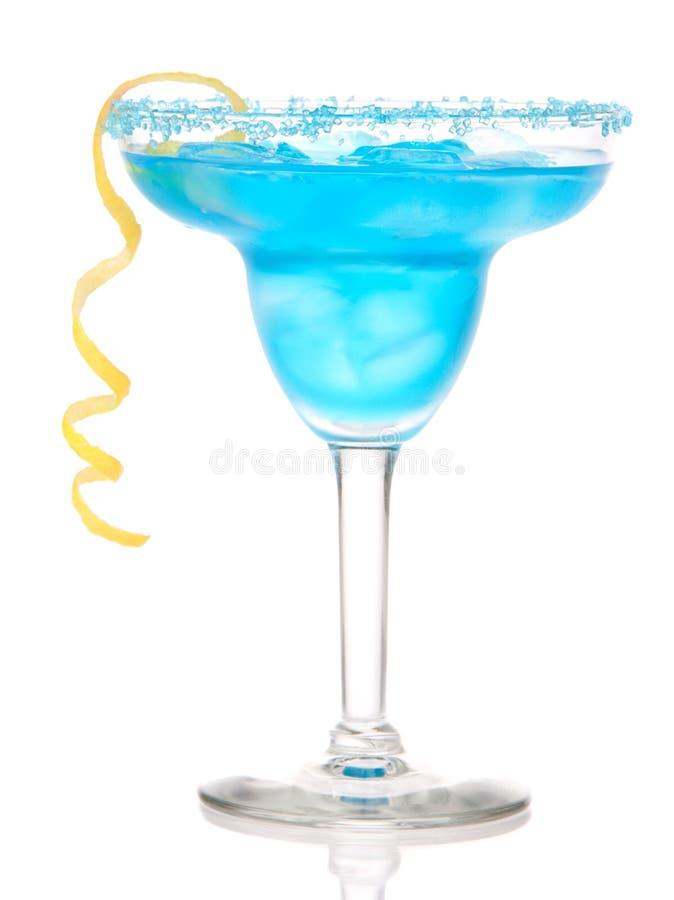голубая маргарита коктеила стоковые фото