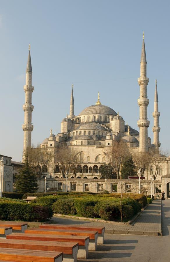 Голубая мечеть, Стамбул стоковые фото