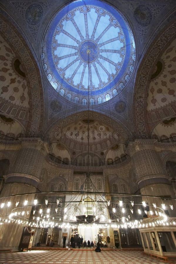 голубая мечеть стоковая фотография rf