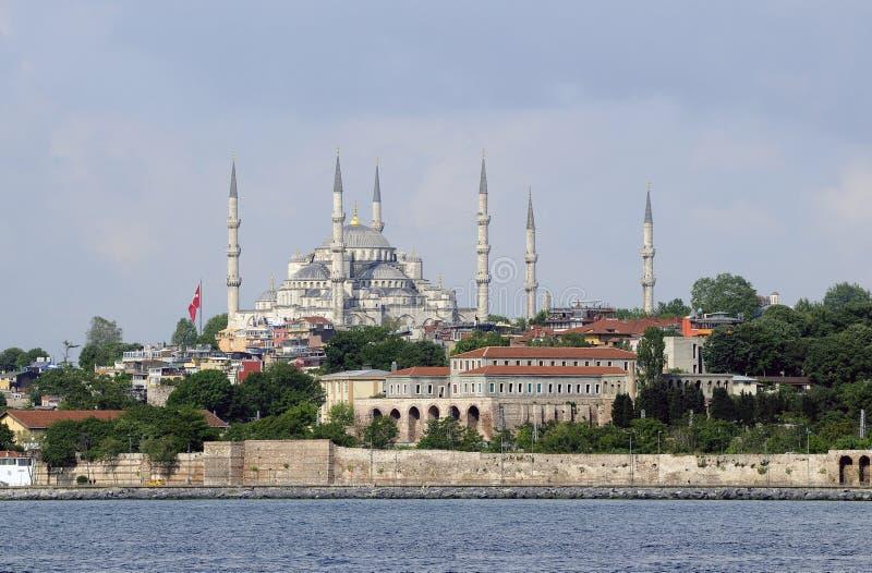 голубая мечеть istanbul стоковые фото