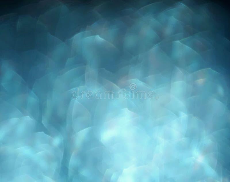 голубая нерезкость света предпосылки bokeh стоковые фото