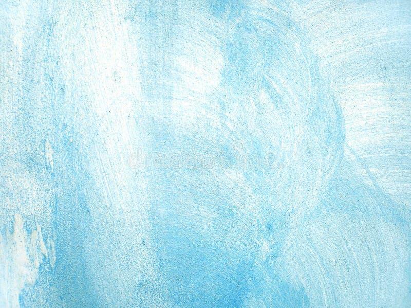 Голубая несенная текстура стены гипсолита стоковое изображение rf