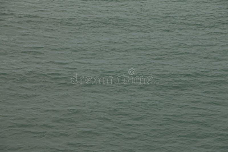 Голубая поверхностная вода моря/океана струится предпосылка стоковые фотографии rf