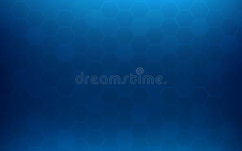 Голубая предпосылка конспекта сота Обои и концепция текстуры Минимальная тема иллюстрация штока