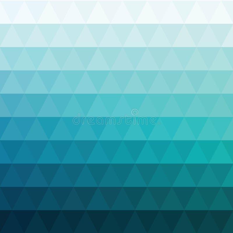 Голубая предпосылка мозаики решетки, творческие шаблоны дизайна 10 eps иллюстрация штока