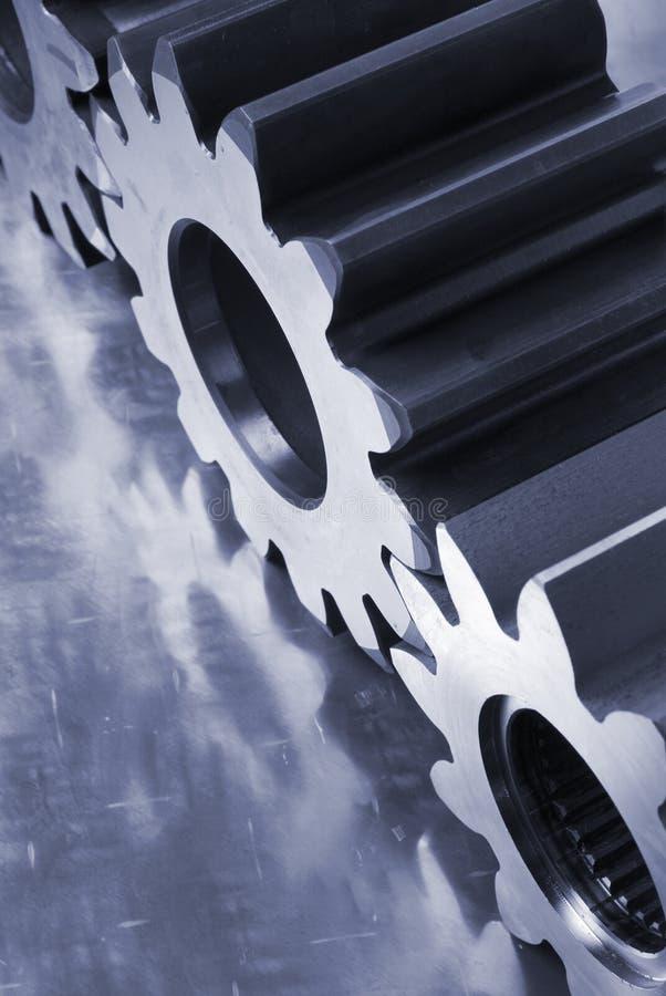 голубая принципиальная схема механически стоковое изображение