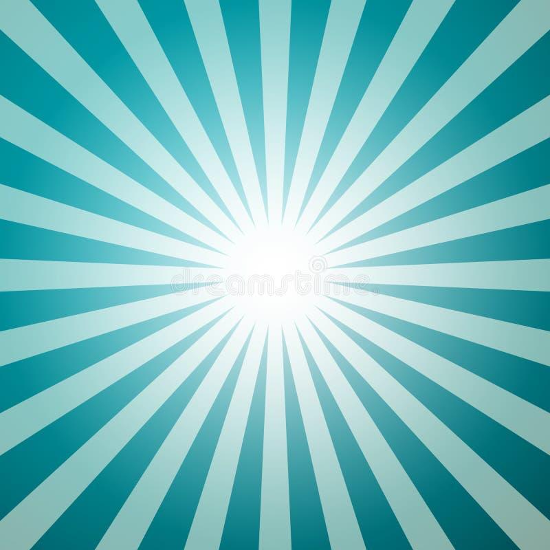 Голубая ретро предпосылка вектора - форма звезды бесплатная иллюстрация