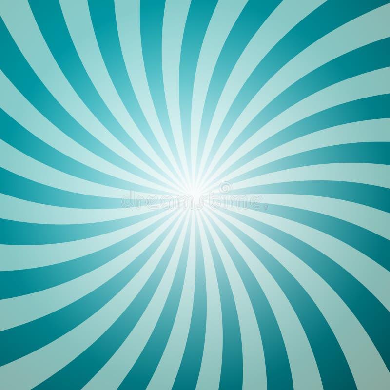 Голубая ретро предпосылка с формой звезды иллюстрация штока