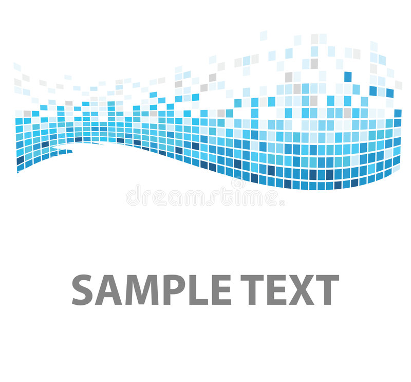 голубая рыба придает квадратную форму текстуре иллюстрация вектора