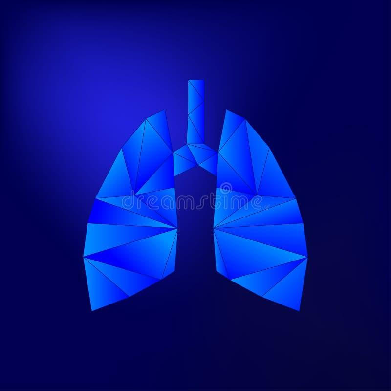 Голубая светлая иллюстрация вектора легкего иллюстрация штока