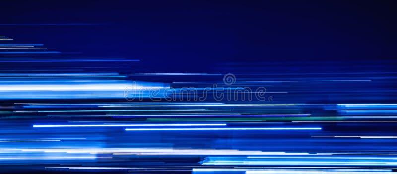Голубая светлая крышка временной последовательности по следов стоковые изображения rf