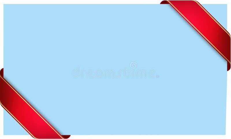 голубая светлая тесемка бесплатная иллюстрация