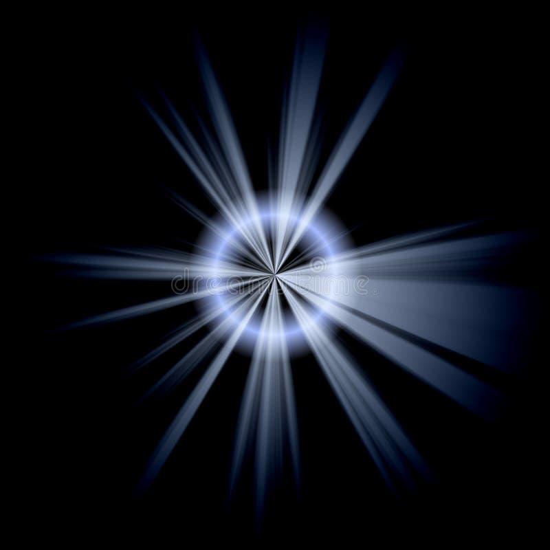 голубая скачками белизна звезды иллюстрация штока