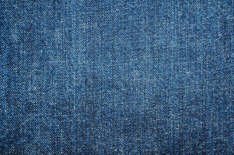 Голубая текстура демикотона стоковые фото
