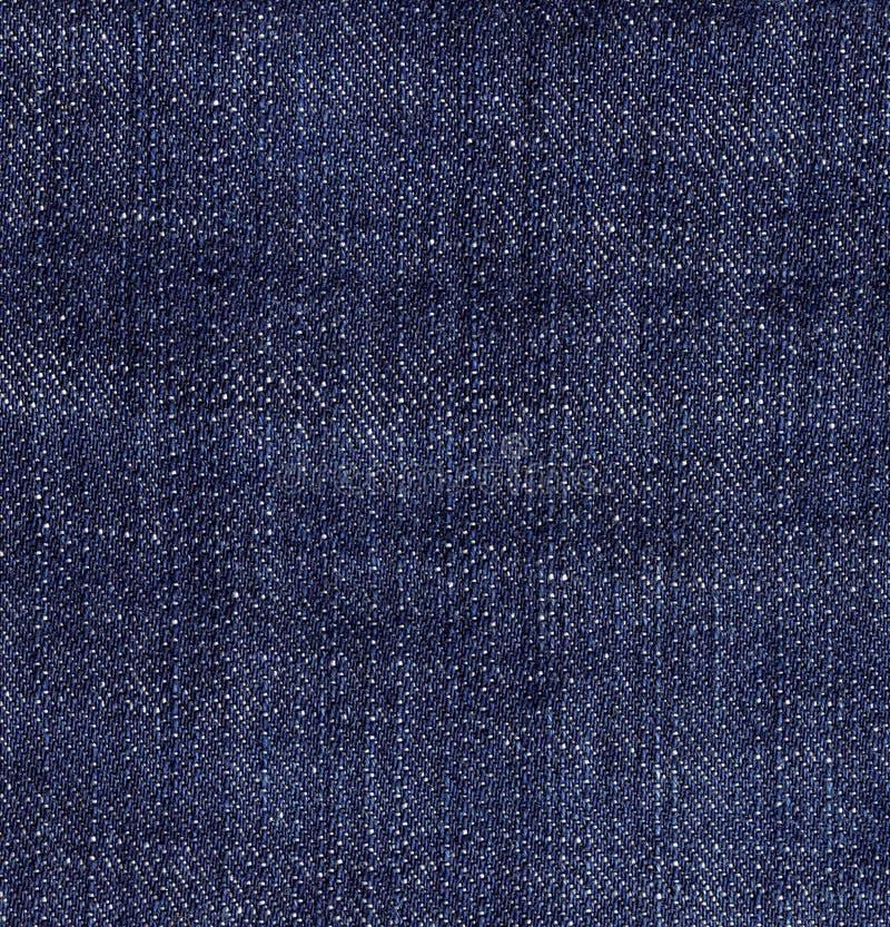 голубая текстура джинсыов джинсовой ткани Темная предпосылка стоковая фотография rf