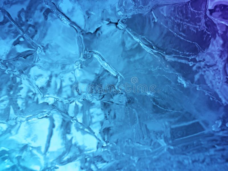 голубая текстура льда стоковое фото