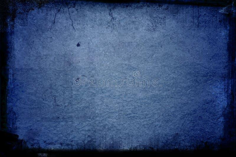 голубая текстура grunge иллюстрация вектора