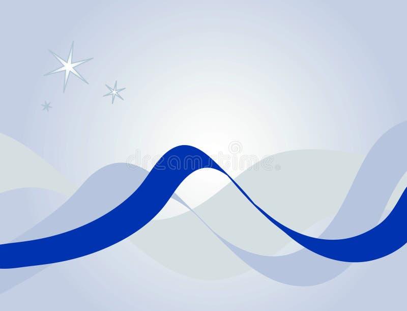 голубая тесемка картины бесплатная иллюстрация