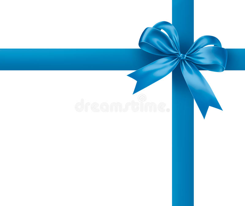 голубая тесемка бесплатная иллюстрация