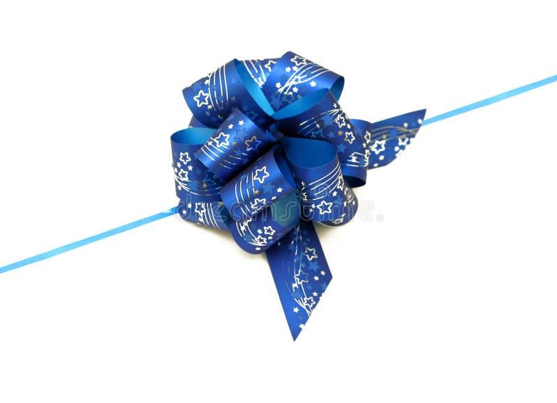голубая тесемка стоковая фотография